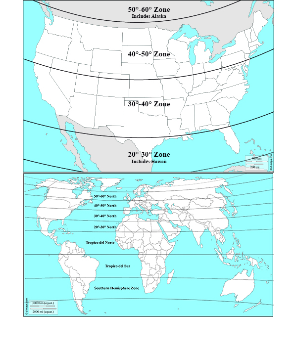If your observing site is right on a latitude line between versions, we suggest choosing the version closest the equator.